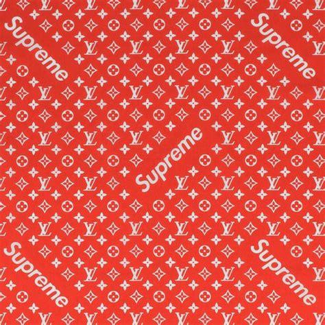 supreme  louis vuitton monogram red bandana crepslocker