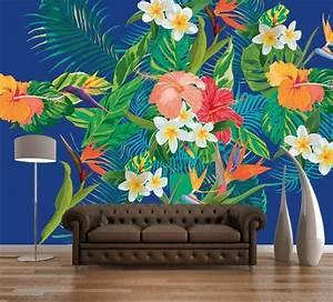 les 63 meilleures images a propos de couleurs tropicales With chambre bébé design avec bouquet fleurs tropicales