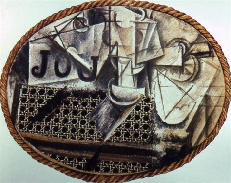 Picasso Still Chair With Caning Collage by 3 History 1001 With Eliason At Of