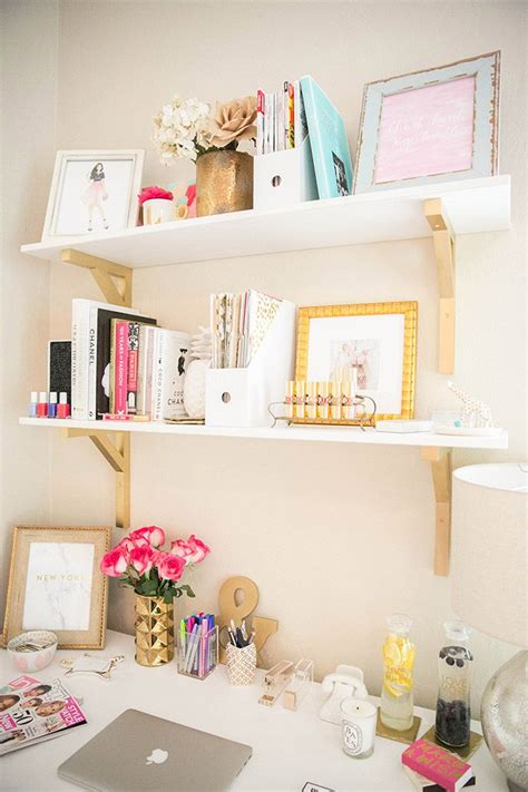 deco chambre girly workspace office inspiration goalz sodora