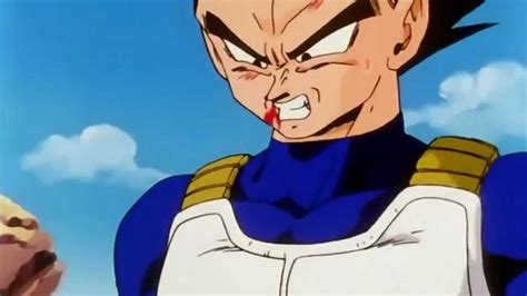 dbz vegeta  angry true hd youtube