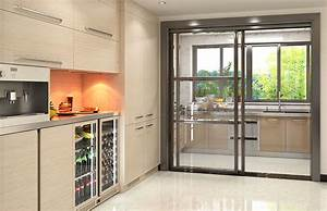 wet and dry kitchenstainless steel kitchen cabinet With wet and dry kitchen design