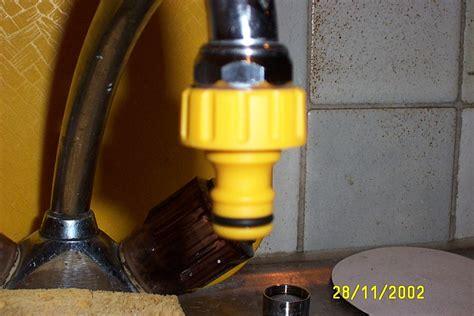 adaptateur tuyau d arrosage sur robinet de cuisine comment raccorder un tuyau d 39 arrosage a un robinet