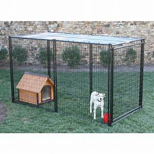 Shop behlen country 10 ft x 5 ft x 6 ft outdoor dog kennel for Outside dog kennels lowes