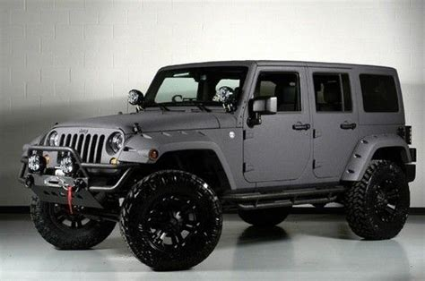 kevlar jeep paint sell new 2013 jeep wrangler 4 lift kevlar paint leather