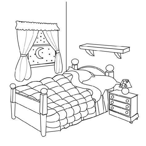 chambre an馗ho ue coloriage chambre les beaux dessins de autres à imprimer et colorier page 3