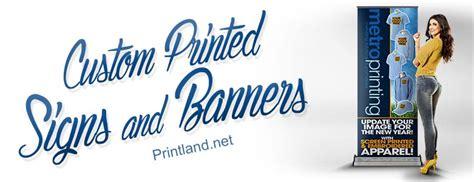 banner printing los angeles printland color printing