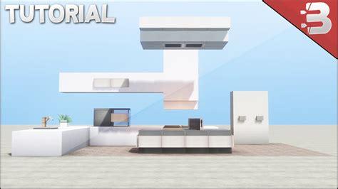 Minecraft Modern Kitchen Tutorial Youtube