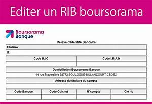 Deposer Cheque Boursorama : editer un rib boursorama 01 banque en ligne ~ Medecine-chirurgie-esthetiques.com Avis de Voitures