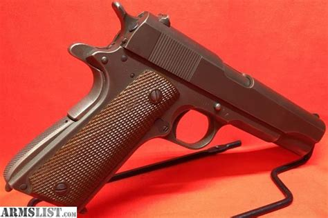 Armslist For Sale Colt 1911a1 1943 Wwii Us Army 45acp