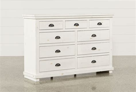 White Dresser In Store by Sinclair White Dresser Living Spaces