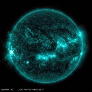 Sun Release X1.7-class Solar Flare on Oct. 25, 2013 | NASA
