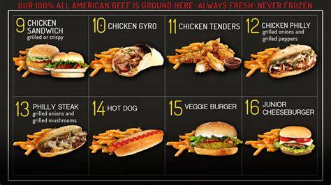 Burgers and Fries Menu in Waterbury | G's Burgers