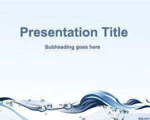 Free Water Conservation Powerpoint Template