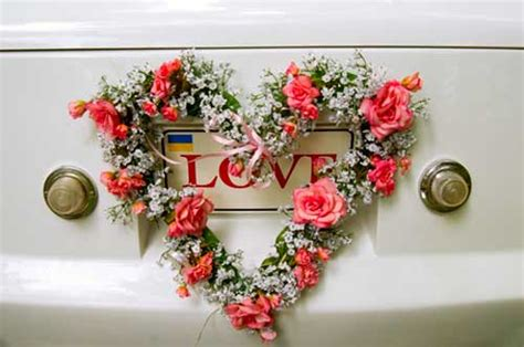 Wedding Decoration Accessories by Wedding Car Decorations And Accessories