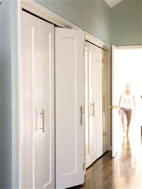 folding closet doors ideas  pinterest