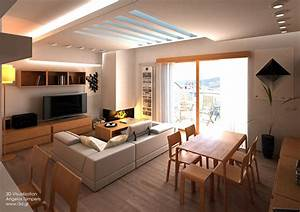 interior design of a two bedroom apartment on behance With interior designing of bedroom 2