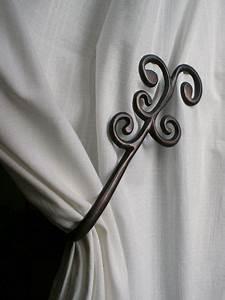 Embrasse Rideau Originale : embrasse aimant e aluminium coud e barok cuivr ~ Teatrodelosmanantiales.com Idées de Décoration