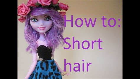 Hairstyles For Monster High Dolls