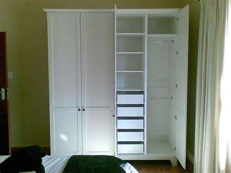 free standing wardrobe with drawers bedroom