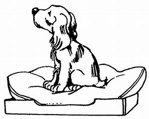 Doggie Bed | Free Images at Clker.com - vector clip art ...