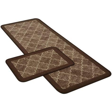 Runner Doormat by Buy Tile Runner And Doormat Set Chocolate At