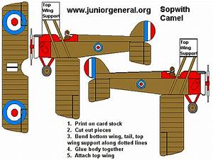 Cardboard Airplane Template 3d Paper Plane Images Galleries With A Bite
