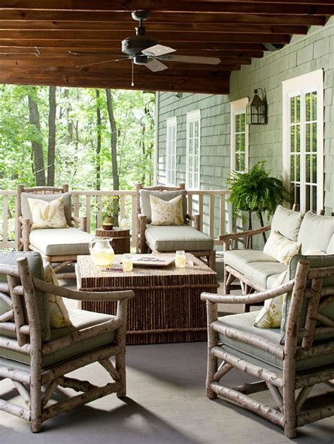 the best rustic patio furniture for a cozy outdoor