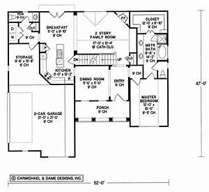House, Plan, 120-2021, 3, Bedroom, 1819, Sq, Ft, Country