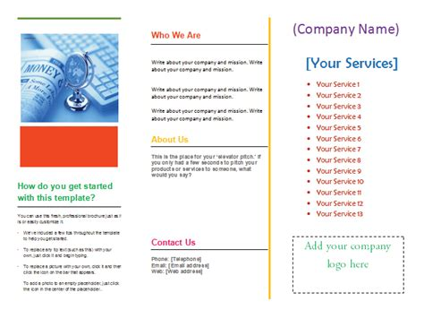 Tri Fold Brochure Template Word 2007 by Brochure Microsoft Word Preview Of Tri Fold Brochure