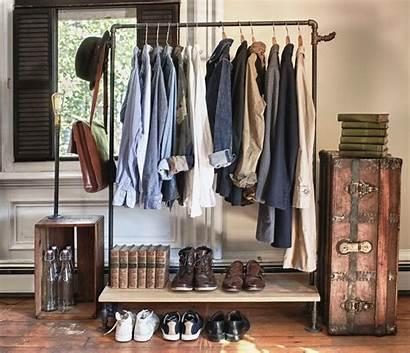 Clothes Closet Rack Without Ways Racks