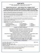 Production Assistant Resume Template Tv Producer Resume Samples Blue Sky Resumes Associate Producer Resume Resume Producer Current Video Editor Resume Cc Video Ii Video Editor Resume Cc