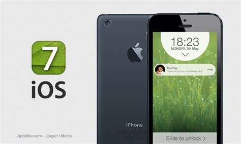iphone ios 7 check out this new ios 7 iphone 6 design concept
