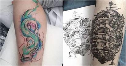 Ghibli Studio Tattoos He Inked Want Shero