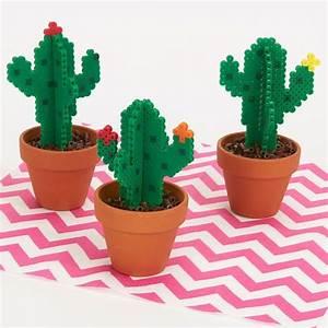 Bügelperlen Kreative Ideen : b gelperlen kaktus basteln mit b gelperlen kindergeburtstag b gelperlen b gelperlen ~ Orissabook.com Haus und Dekorationen