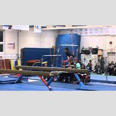 Juliette Gymnastics New Level 5 Beam 9675 January 2015 Youtube