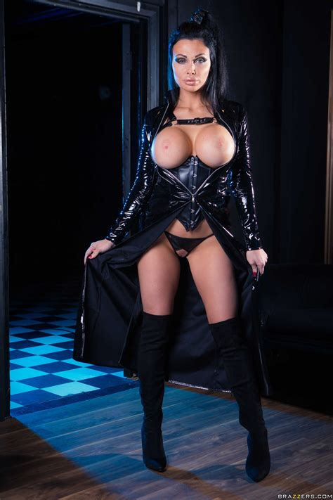 Dark Haired Woman Is Posing Without Clothes Photos Aletta Ocean Danny D Milf Fox