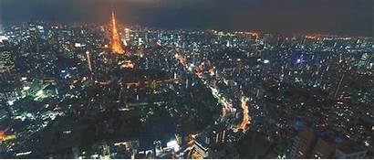 Tokyo Night Above Seeing Makes Animated Machines