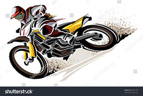 Motorcycle Stock Vector 95491744