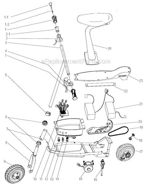 Razor Parts List Diagram Ereplacementparts