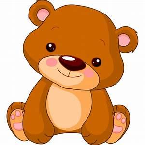 Pooh stickers, teddy bear decals, adhesive animal nursery ...