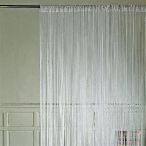 rideau de fils brise blanc rideau rideau voilage