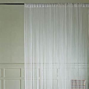 Fil Tringle Rideau : rideau fil blanc ~ Premium-room.com Idées de Décoration
