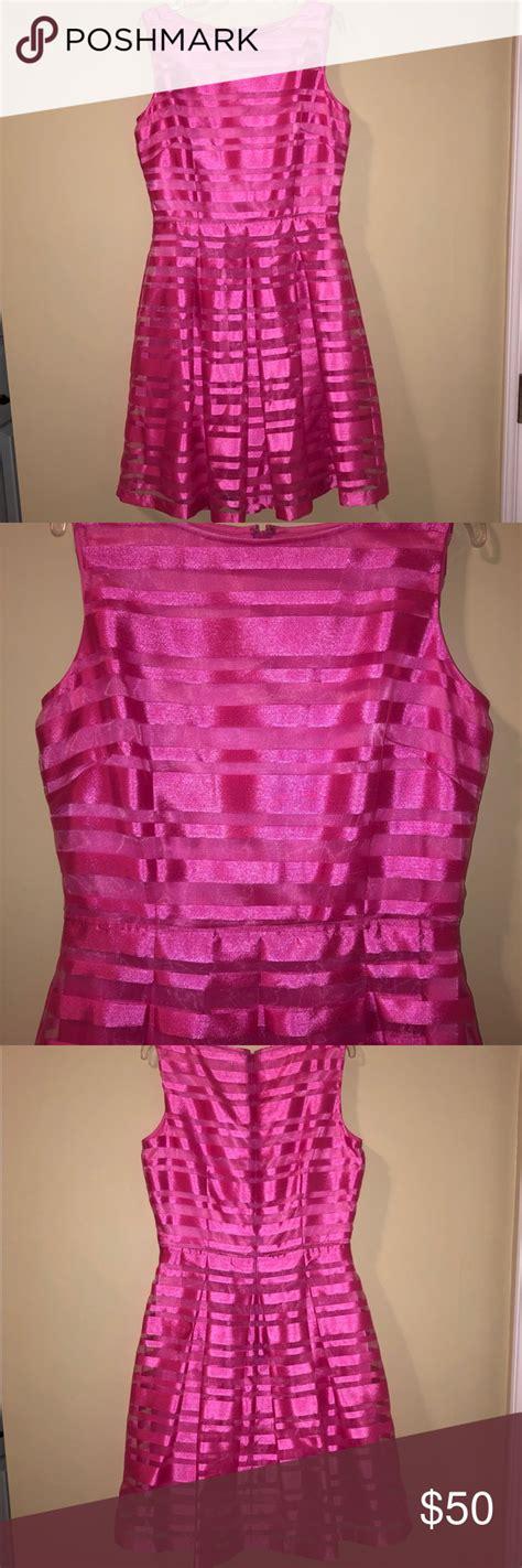 tahari  arthur levine pink cocktail dress  images