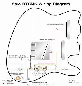 Solo Double Neck Tc Mandolin Style Wiring Diagram