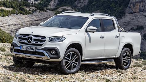 Mercedes X-class (2018) Luxury Pickup Truck
