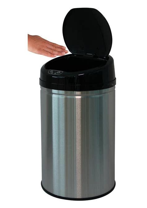 abfalleimer 30 liter edelstahl abfalleimer echtwerk 187 inox brushed 171 mit infrarotsensor 30 liter kaufen otto