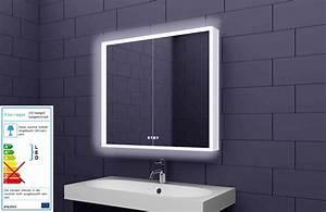 Badezimmer Spiegelschrank Led : alu badschrank badezimmer spiegelschrank bad led beleuchtung 80x70cm sac80h70 ebay ~ Indierocktalk.com Haus und Dekorationen