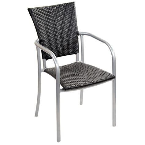 Patio Chairs by Faux Rattan Aluminum Patio Chair