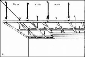 Abstand Lattung Gipskarton Dachschräge : montageanleitung f r deckenabh nger ~ Orissabook.com Haus und Dekorationen